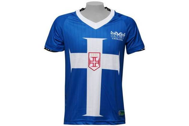 Em 2012, o símbolo com a Cruz de Cristo voltou a aparecer, desta vez em uma camisa azul.