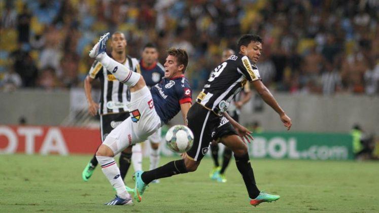 Em 2014, o Botafogo teve 34 pontos em 38 jogos, uma média de 29,82% no Brasileirão com 20 clubes.