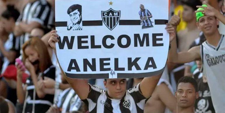 Em 2014, o então mandatário do Atlético-MG, Alexandre Kalil anunciou: