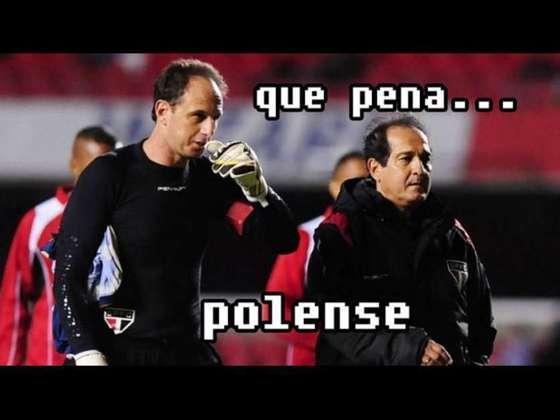 Em 2014, o São Paulo caiu nas quartas de final do Paulistão ao ser superado pela modesta Penapolense