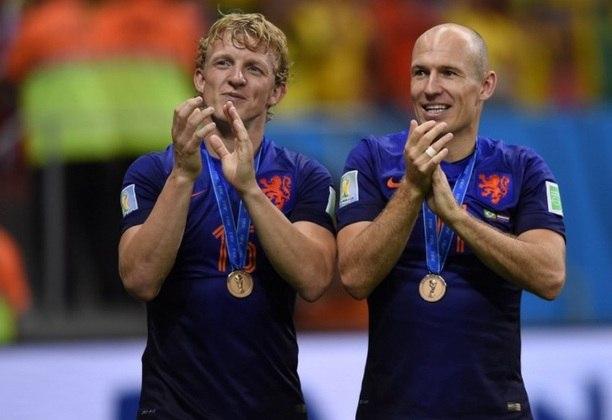 Em 2014, Robben foi um dos principais do Mundial do Brasil - inclusive, há quem diga que ele mereceu mais o prêmio de melhor da competição do que Lionel Messi, mas a Holanda bateu na trave novamente: terceiro lugar