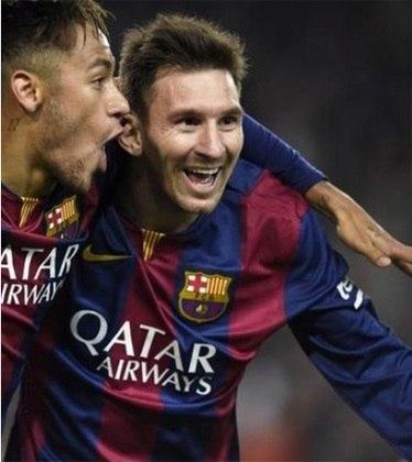 Em 2014/15, Messi novamente não quis deixar ninguém chegar perto dos títulos e conquistou a La Liga e a Champions League, marcando 43 gols na liga nacional e 10 na competição europeia.