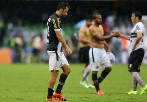 Em 2015, o Vasco somou 41 pontos em 38 partidas. O aproveitamento foi de 35,96%.