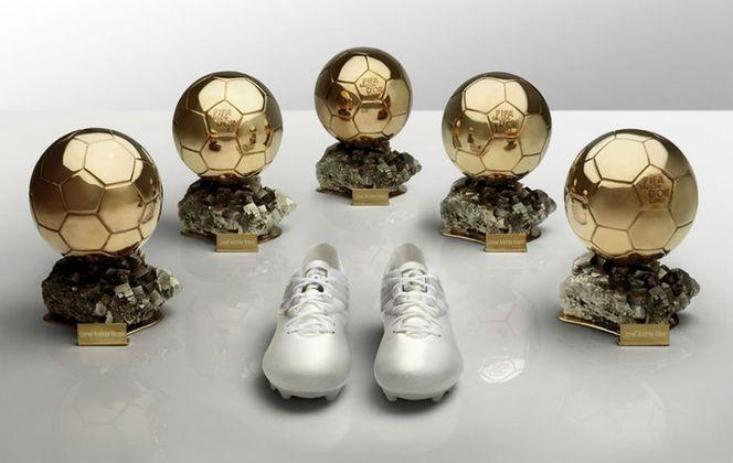 Em 2016, a Adidas lançou uma chuteira especial para homenagear o craque argentino Lionel Messi, após a conquista de sua quinta Bola de Ouro