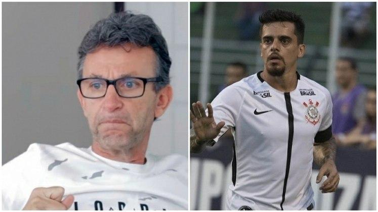 """Em 2016, Neto criticou o lateral-direito Fagner e mandou um sonoro """"Cala a boca rapaz"""", após o jogador do Corinthians reclamar de salários atrasados no pior momento do clube no Brasileirão."""