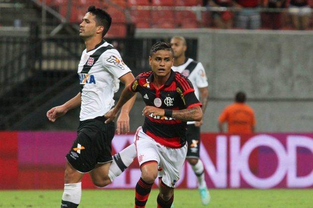 Em 2016, Vasco e Flamengo se enfrentaram na semifinal do Campeonato Carioca. Na época, o Banco Caixa era patrocinador master da camisa das duas equipes.