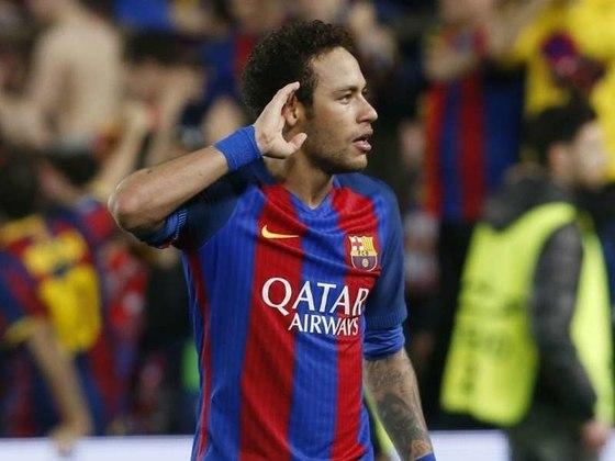Em 2017, o Barcelona venceu o Paris Saint-Germain por 6 a 1, e conseguiu a vaga nas quartas de final da Liga dos Campeões em uma virada que entrou para história do futebol. Neymar, com dois gols e uma assistência nos oito minutos finais da partida, foi o herói da classificação