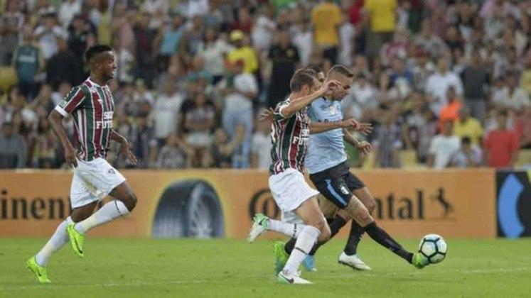 Em 2017, por sua vez, o Fluminense chegou às oitavas de finais e decidia em casa contra o Grêmio. Entretanto, foram duas derrotas, uma por 3 a 1 em Porto Alegre e outra por 2 a 0 no Rio de Janeiro.