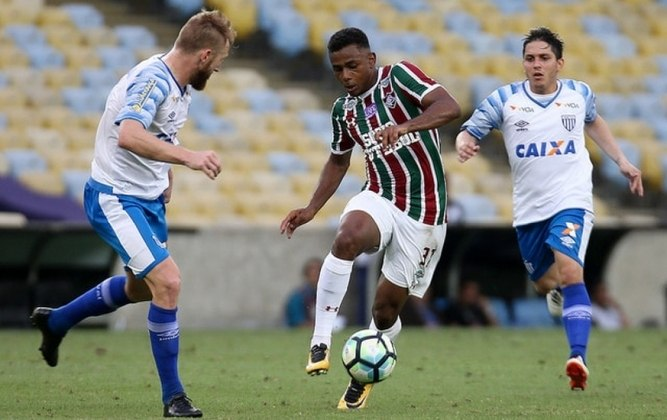 Em 2017, Wendel, vendido ao Sporting, de Portugal, deu um lucro de R$ 23,3 milhões
