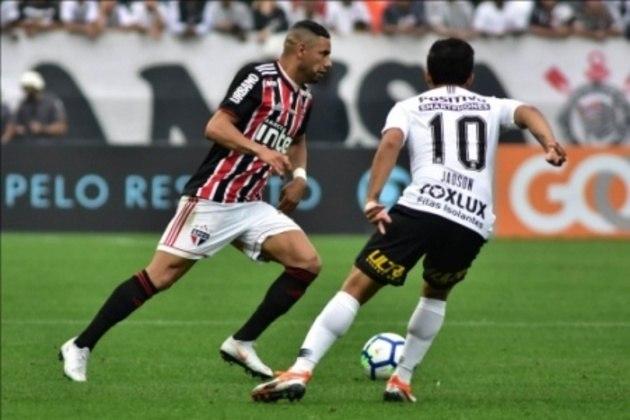 Em 2018 a história se repetiu: o Tricolor venceu a partida de ida por 1 a 0, mas perdeu a de volta pelo mesmo placar. Nos pênaltis, o Corinthians passou para a final e foi campeão em cima do rival Palmeiras.