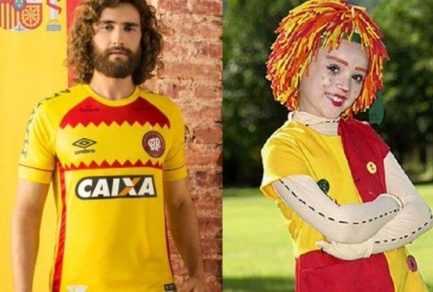 Em 2018, a Umbro criou uma camisa do Athletico para homenagear a Espanha, mas ela virou piada na internet e acabou não sendo lançada oficialmente.