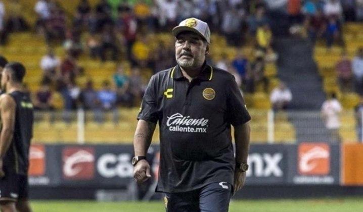 Em 2018, Maradona foi confirmado como treinador do Dorados de Sinaloa, do México, onde ficou até junho de 2019