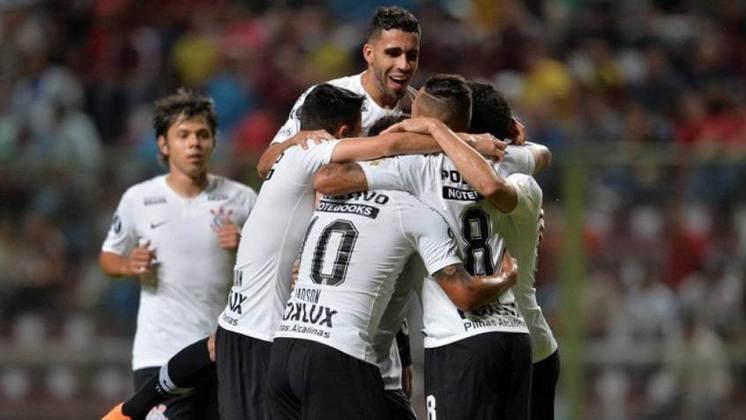 Em 2018, o Corinthians caiu nas oitavas de final da Libertadores, mas antes, na quinta rodada da fase de grupos, goleou o Deportivo Lara, da Venezuela, por sonoros 7 a 2, o maior resultado dos últimos cinco anos. Jadson marcou três vezes, Junior Dutra duas, Sidcley e Romero também balançaram as redes.