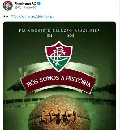 Em 2019, a torcida do Vasco resolveu fazer um mosaico no jogo contra o Fluminense com os dizeres