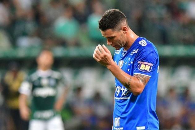 Em 2019, o Cruzeiro obteve 39 pontos em 38 jogos, com 31,57% de aproveitamento.