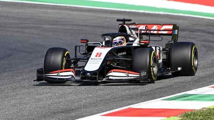Em 2020, tem outra temporada com dificuldades, mas conquistou o único ponto da Haas: o 10º lugar no GP da Hungria