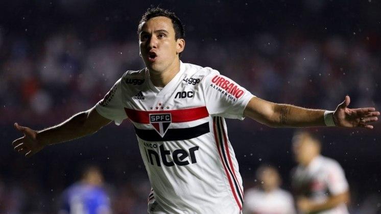 Em 2021, o camisa 9 do Tricolor balançou as redes três vezes. A primeira vez foi contra o Flamengo, na última rodada do Brasileirão da temporada passada. Os outros dois gols foram marcadas já na nova temporada, sob o comando de Crespo, diante da Inter de Limeira e do Santos, no Paulistão.