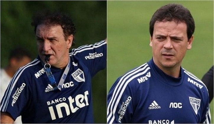 Em 26 de setembro, menos de dois meses após a chegada de Daniel Alves, o São Paulo mudou o comando técnico. Cuca pediu demissão e Fernando Diniz foi contratado para substituí-lo. O camisa 10 foi um dos jogadores que sugeriram o nome de Diniz à diretoria, que estava disposta a manter o então coordenador técnico Vagner Mancini como interino até dezembro.