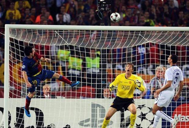 Em 27 de maio de 2009, o gol marcante foi feito de cabeça contra o goleiro holandês Van der Sar, após lindo passe do craque espanhol Xavi, no estádio Olímpico de Roma.