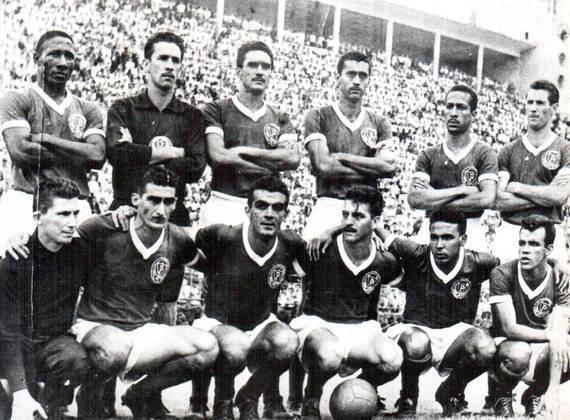 Em 29 de novembro de 1959, pela primeira fase do Paulista, o Palmeiras impôs 5 a 1 sobre o Santos de Pelé, no Palestra Italia. Américo (duas vezes), Julinho Botelho (duas vezes) e Romeiro marcaram.