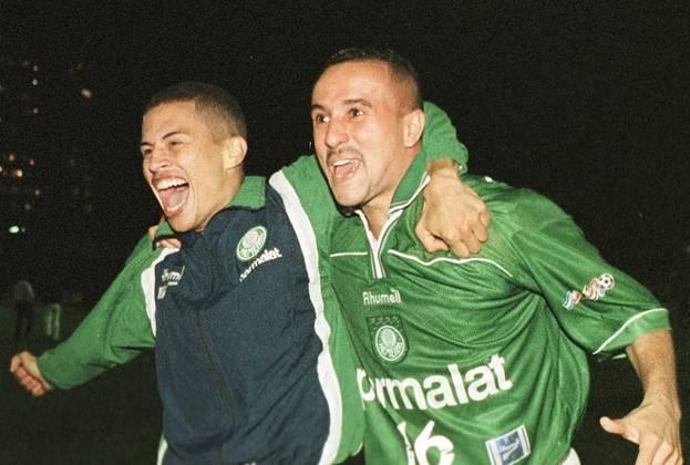 Em 5 de agosto de 1999, pela primeira fase da Mercosul, o Palmeiras impôs 7 a 0 sobre o tradicional Racing, da Argentina. Euller (duas vezes), Oseás (duas vezes), Rogério (duas vezes) e Paulo Nunes balançaram as redes no Palestra Itália.