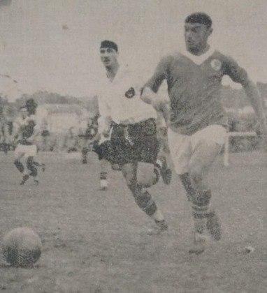 Em 5 de novembro de 1933, a maior goleada da história dos Dérbis. Ainda como Palestra Itália, o Palmeiras, em casa, enfiou 8 a 0 no Corinthians, pelo Paulista, com quatro gols de Romeu Pelliciari (foto), três de Imparato e um de Gabardo.