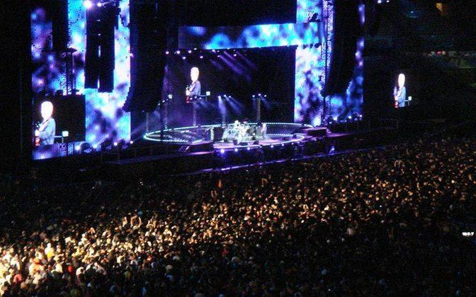 Em 8 de dezembro de 2007, o Maracanã reverenciou a volta do conjunto THE POLICE. O show
