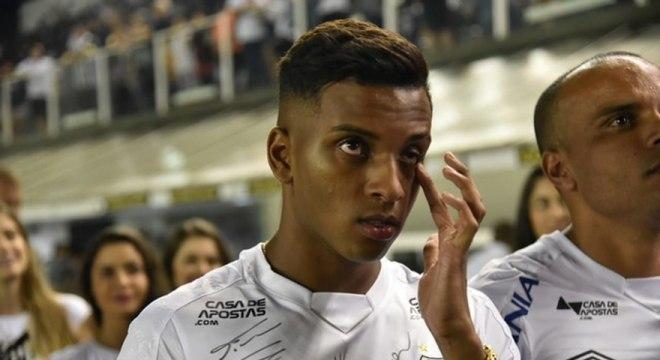 Rodrigo não se apresentou à Seleção sub-20. Mas também não jogou pelo Santos