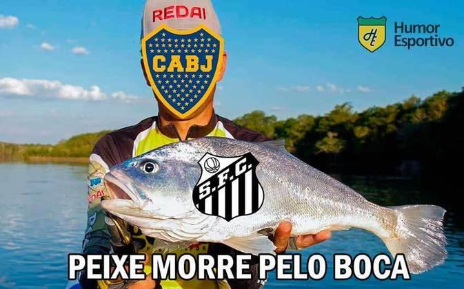 Em dois jogos na competição continental, o Peixe acumula duas derrotas e está na lanterna do Grupo C. Único brasileiro derrotado na terça-feira, acabou sendo alvo de memes dos rivais. Confira! (Por Humor Esportivo)