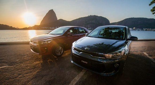 Em duas versões, o novo Kia Rio chega a partir de R$ 70 mil / Divulgação