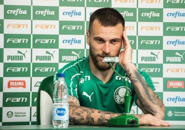 Em entrevista coletiva realizada no CT do Palmeiras, em outubro de 2019, Lucas Lima falou sobre as críticas de Neto: