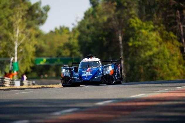 Em grande recuperação, André Negrão levou o Alpine #36 ao quarto lugar na LMP2