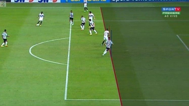Em jogo da sétima rodada do Brasileiro, contra o Atlético-MG, Luciano marcou o gol que abriria o placar para o Tricolor no Mineirão. Porém, o VAR anulou o gol por impedimento