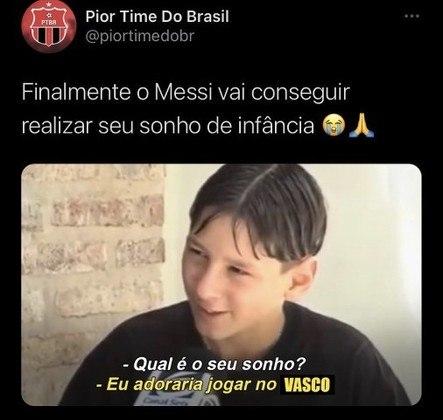 Em memes, torcedores brincam com a saída de Lionel Messi do Barcelona