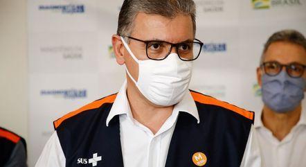 Secretário de saúde de Minas, Carlos Eduardo Amaral (foto) foi demitido pelo governador de Minas, Romeu Zema