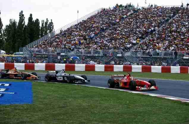 Em Montreal, em 2000, mesmo com Barrichello mais rápido que Schumacher, a Ferrari pediu para o brasileiro 'proteger' o alemão