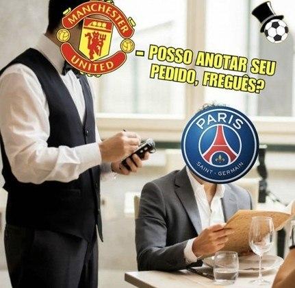Em noite de pouco brilho de Neymar, o PSG estreou na Champions League com derrota por 2 a 1 para o Manchester United e não escapou das zoações nas redes sociais. Confira os melhores memes! (Por Humor Esportivo)