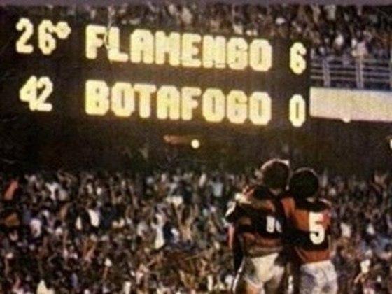 Ainda na série sobre as maiores goleadas das principais equipes do Brasil, neste sábado (18) é a vez de contar a história do Flamengo. Em novembro de 1981, o Flamengo, de Zico, deu o