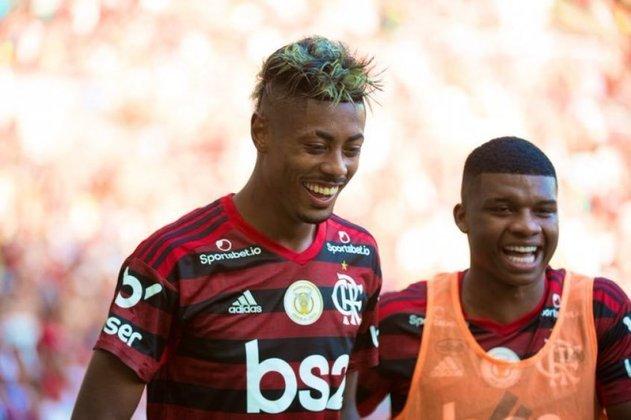Em partida pela 30ª rodada do Brasileirão de 2019, Bruno Henrique deu o caminho da vitória do Fla sobre o Corinthians, por 4 a 1, com três gols marcados e atuação impecável