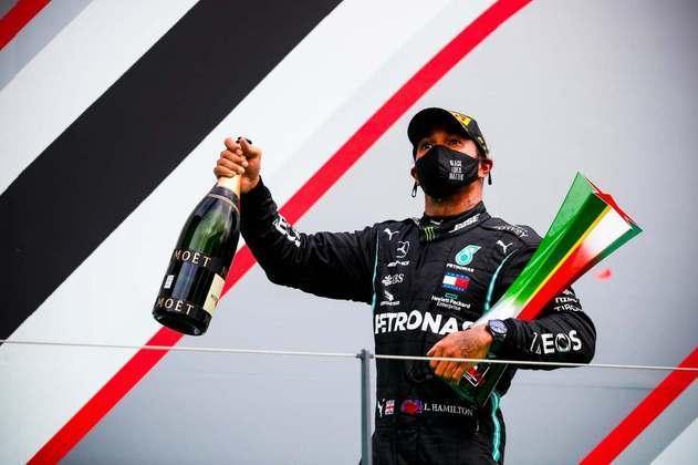 Em Portugal, se tornou isolado o maior vencedor da história da F1.