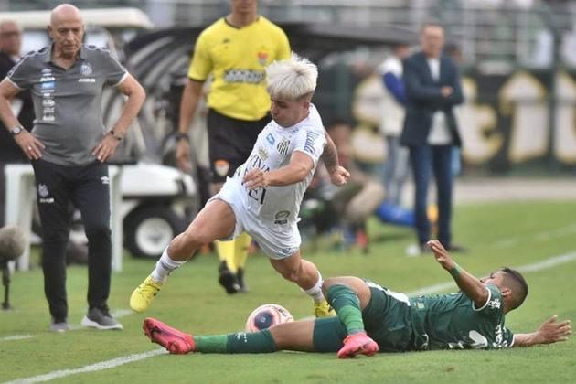 Em Santos x Palmeiras, quem está na frente no retrospecto é o Verdão. Foram 137 vitórias do Palmeiras, contra 105 triunfos do Peixe. As equipes empataram 86 vezes.