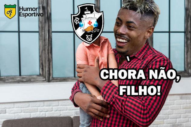 Em São Januário, o Flamengo venceu o Vasco por 2 a 1 e aumentou para 16 jogos a sequência invicta no clássico. Na web, torcedores rubro-negros tiraram onda com o rival e exaltaram o 'papai' Bruno Henrique, decisivo mais uma vez em clássicos. Veja os memes na galeria!