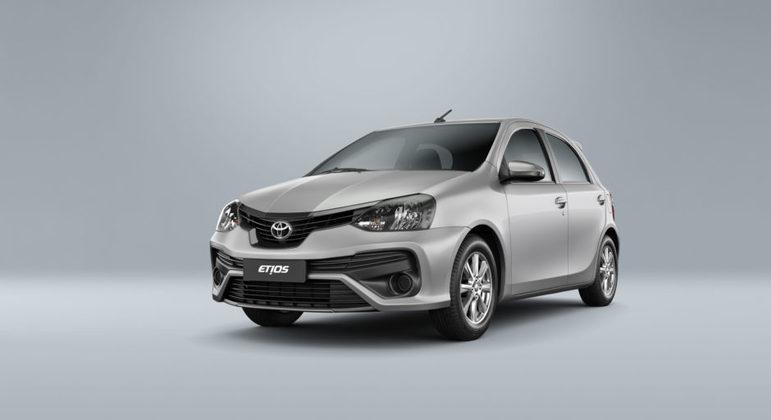 Descontinuado no Brasil, Toyota Etios é quinto modelo mais vendido da Argentina