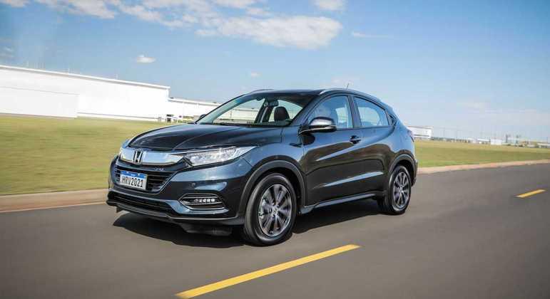 Honda realizou atualizações pontuais na linha 2021 do HR-V nas variantes EXL e Touring
