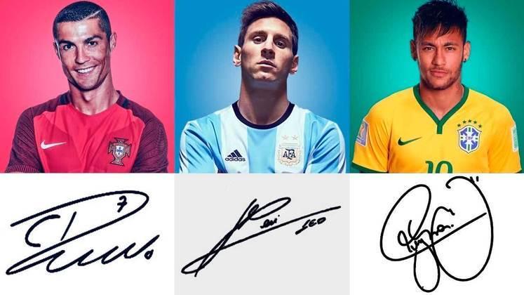 Em tempos de selfies, os autógrafos têm sido cada vez menos requisitados pelos fãs aos seus ídolos. Apesar disso, o canal 'Khalid 10' conseguiu reunir os autógrafos de 60 grandes jogadores de futebol e mostrar que alguns 'rabiscos' são bem criativos. Confira!