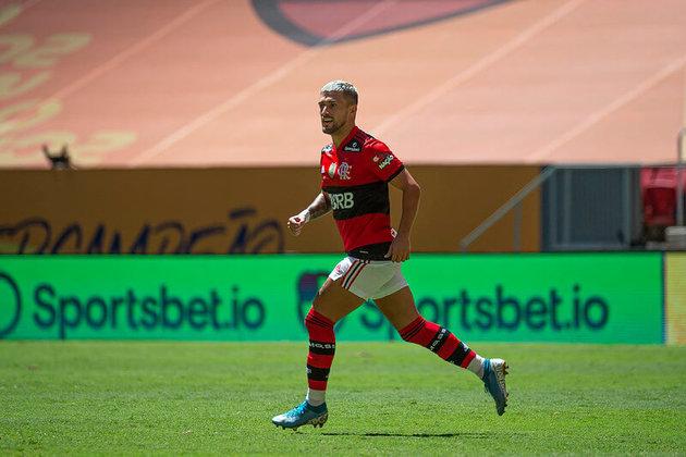 Em três jogos na temporada, Arrascaeta marcou três gols e subiu posições na lista de maiores artilheiros estrangeiros na história do Flamengo. Confira, a seguir, o Top 10 e a posição do meia uruguaio
