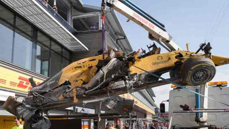 Em um ano complicado pela fraqueza do carro, seu momento mais marcante foi o fortíssimo acidente em Spa-Francorchamps
