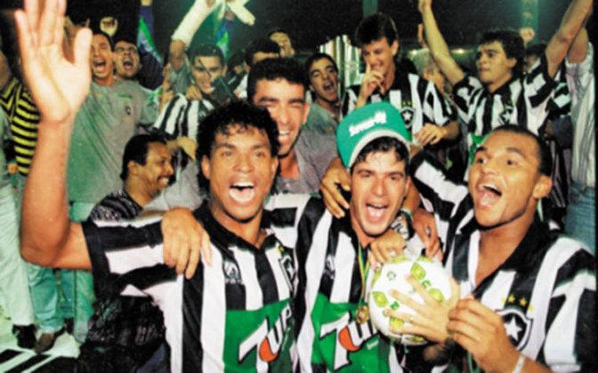 Em uma bela campanha sob o comando de Túlio Maravilha, Donizete e Wilson Gottardo, o Botafogo foi campeão Brasileiro em 1995, em uma final contra o Santos.