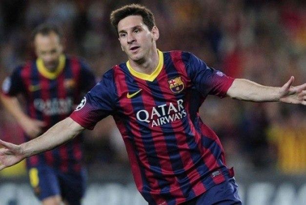 Em uma das melhores temporadas da carreira (2012-13), Messi conquistou mais um título Espanhol. O camisa 10 foi o artilheiro com a impressionante marca de 46 gols e 12 assistências em apenas 32 partidas disputadas.
