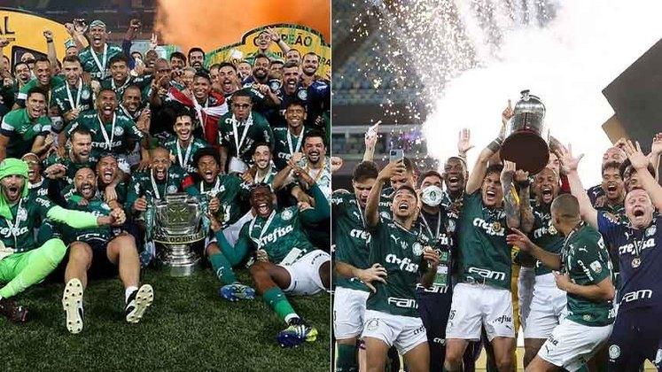 Em uma temporada marcada pela pandemia da Covid-19, o Palmeiras foi campeão paulista, conquistou de maneira heroica a Libertadores e ainda levou a Copa do Brasil. Confira a seguir 20 motivos para acreditar que o Verdão continuará conquistando títulos nos próximos anos.